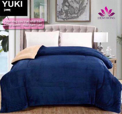 chăn lông cừu Yuki Nhật bản dòng queen