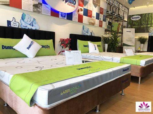 Nơi cung cấp đệm cao su thiên nhiên latex Dunlopillo dòng Relax