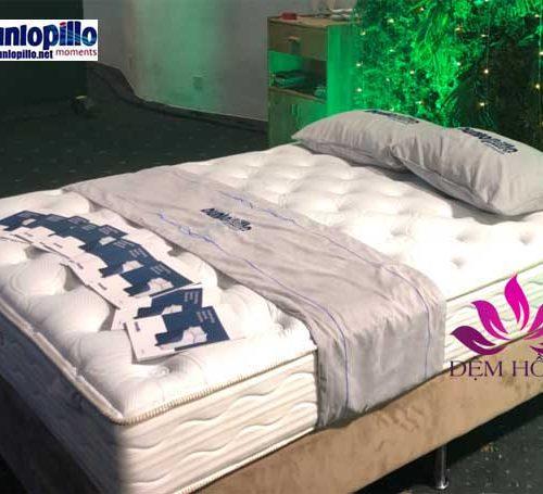 Mẫu đệm Audrey thuộc dòng lò xo túi cao cấp do Dunlopillo sản xuất