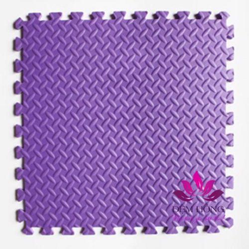 Xốp ghép sàn vân khế 60x60 màu tím