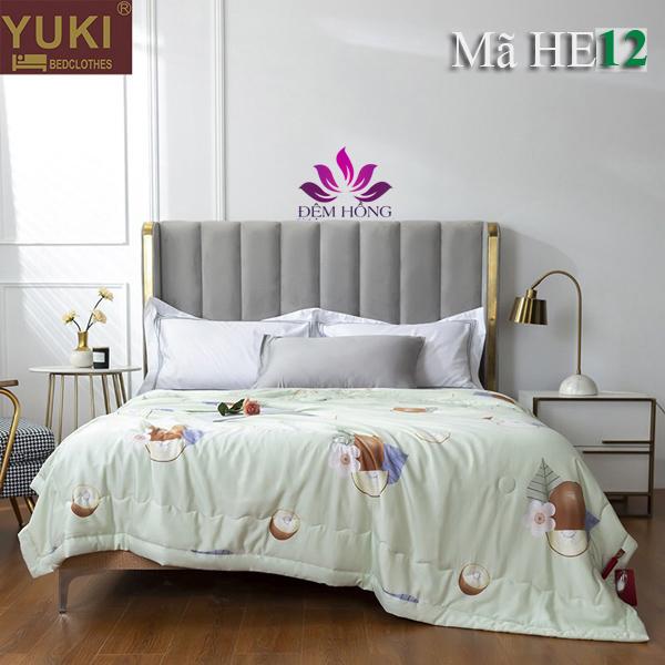 Bộ chăn hè cao cấp Yuki vải Modal He12