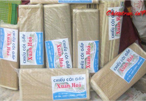 Chiếu cói Xuân Hòa cao cấp chính hãng dòng xuất khẩu