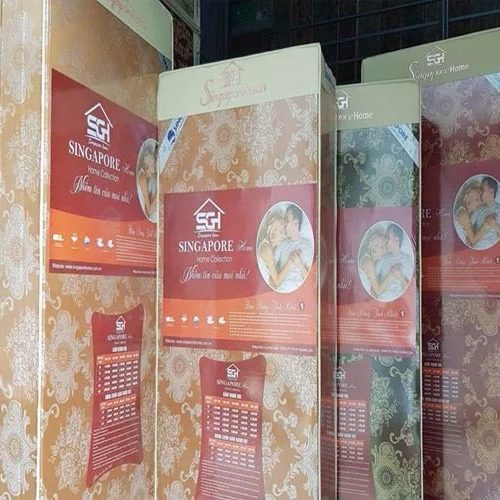 nơi cung cấp đệm bông ép Singapore Nano chính hãng
