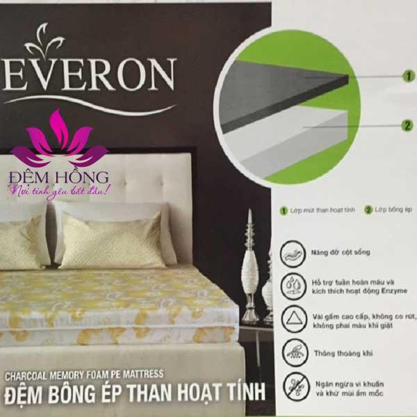 Nơi cung cấp đệm bông ép than hoạt tính chống khuẩn Everon