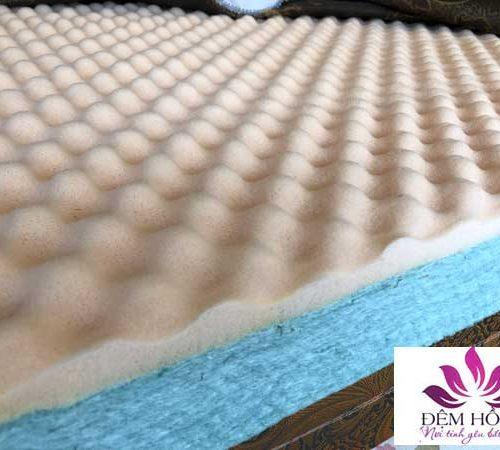 Ruột bông nano chống khuẩn kết hợp mouse massage êm ái