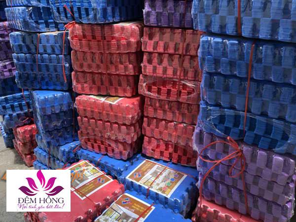 Thảm xốp ghép sàn màu sắc 40x40 thương hiệu Tường Lâm